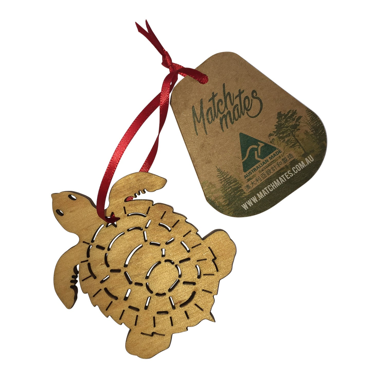 Turtle christmas tree decoration-Christmas decoration-Oz About Oz
