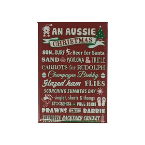 An Aussie Christmas fridge magnet-Magnets-Oz About Oz