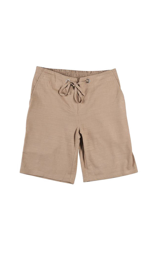 Women's bamboo beach shorts - latte/black/pewter/jungle/white colours