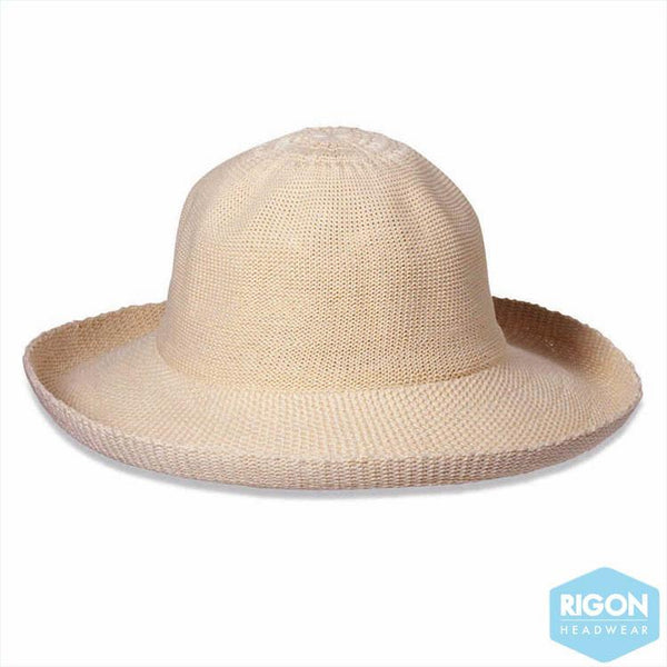 Rigon Hats - Classic Breton Style Ladies Hat Unlined (R35u)