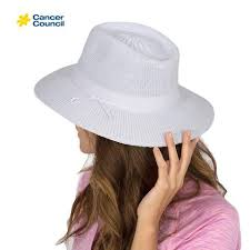 Cancer Council Hat - Jacqui Ladies Mannish Style (RL73)