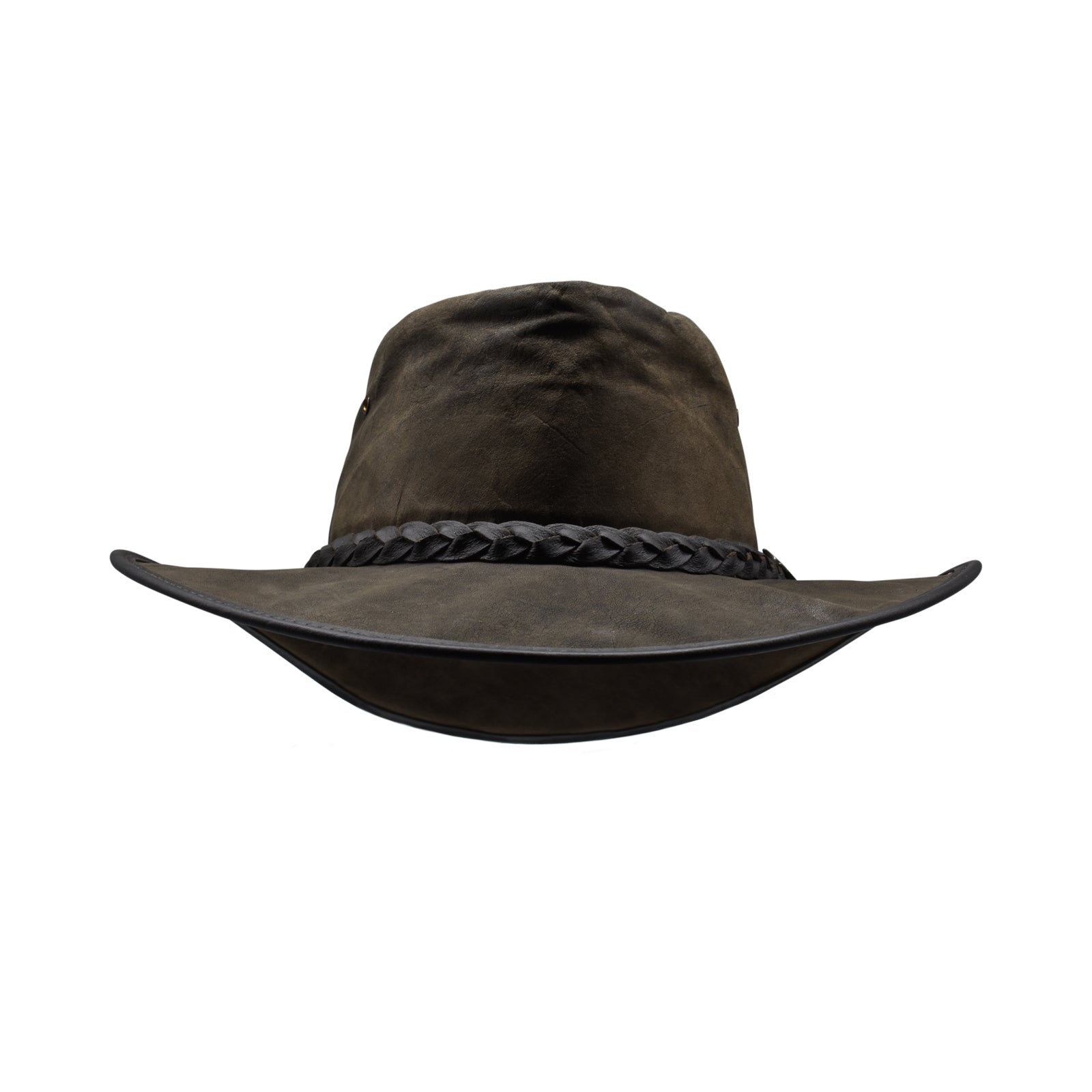 Kangaroo leather hat-Leather hat-Oz About Oz