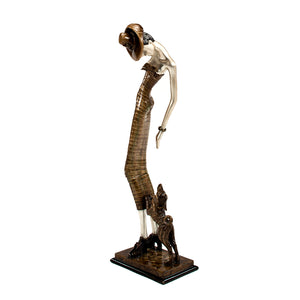 Friendship Sculpture 8240-PF3