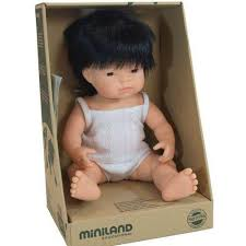 Miniland Doll - 38cm Asian Boy