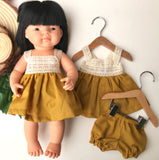 Dolls Clothes Hanger - With Clips