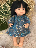 Dress Set to suit 38cm Miniland Doll - Woodland Critters