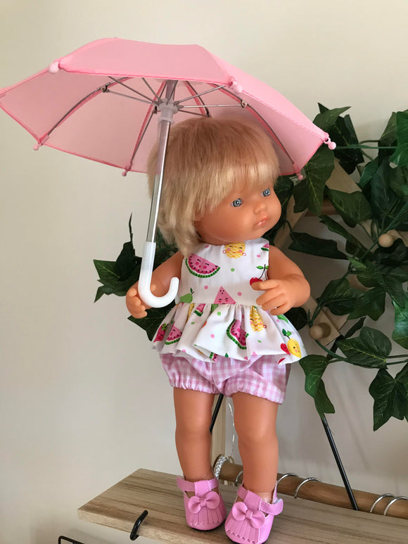 Doll Umbrella - Pink