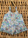 Edith Dress Set to suit 40cm Soft Body Miniland Doll - Purple Old World
