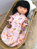 Sleeping Bag on its own, to suit 38cm Miniland Doll - Sleepy Bear