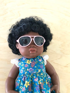 Doll Glasses - Aviators - Pink