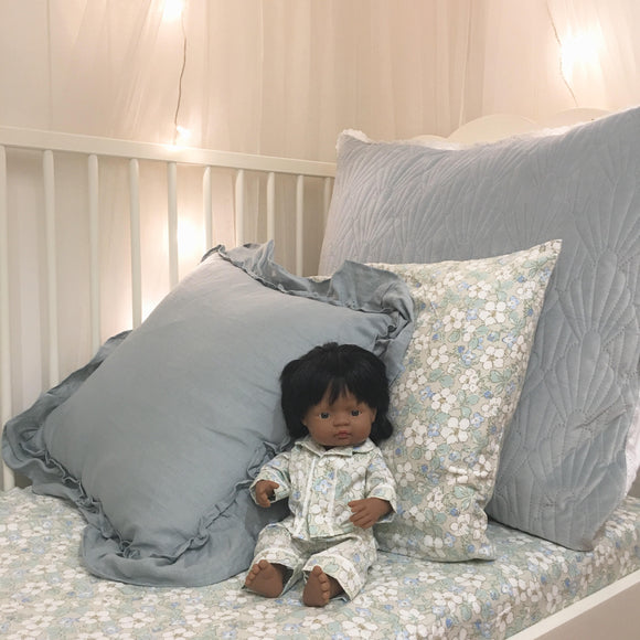 Long Pyjama Set to suit 38cm Miniland Doll - Ivy and Aida - Aspen