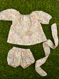 COCO AND GINGER - DOLL CLOTHING RANGE - JOLIE - JUMPSUIT - YELLOW