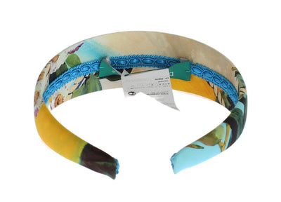 Multicolor Floral Cotton Headband