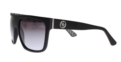 Black Plastic Frame UV Lens Sunglasses