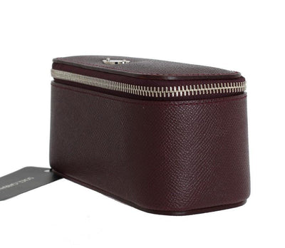 Bordeaux Leather Watch Case Box