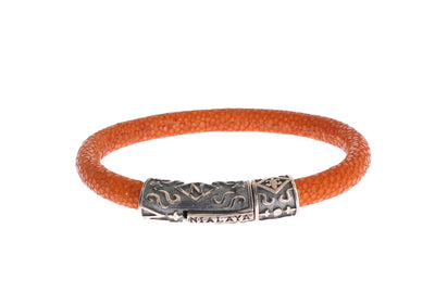 Orange Stingray 925 Vintage Bracelet