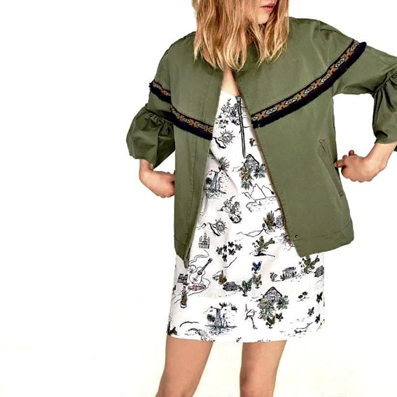 Autumn Leaves Jacket