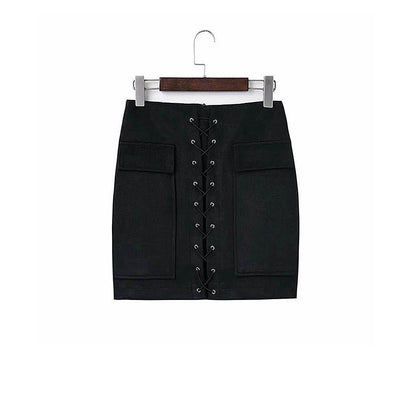Mini Suede Skirt