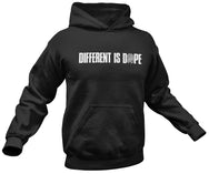 Black (Different Is Dope) Hoodie