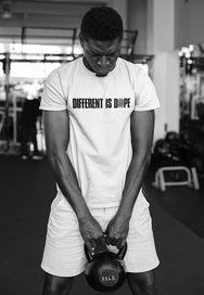 White (Different Is Dope) T-Shirt