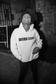 White (Different Is Dope) Hoodie