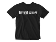 Black (Different Is Dope) T-Shirt