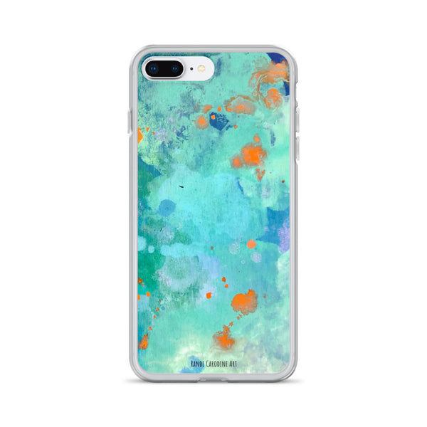 Tropical Vaca iPhone Case