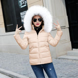 2018 winter jacket For women plus Sizes For women s parks warmed outerwear with hood winter coat For women down jacket Women's base Tops - elatestore
