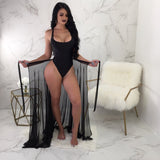 Sarah Sexy Swimsuit and Beach Cover Up Set-elatestore -elatestore