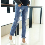 Jeans Maternity Clothing Pants For Pregnant Women Clothes Nursing Trousers Pregnancy Overalls Denim Long Prop Belly Legging-elatestore-elatestore