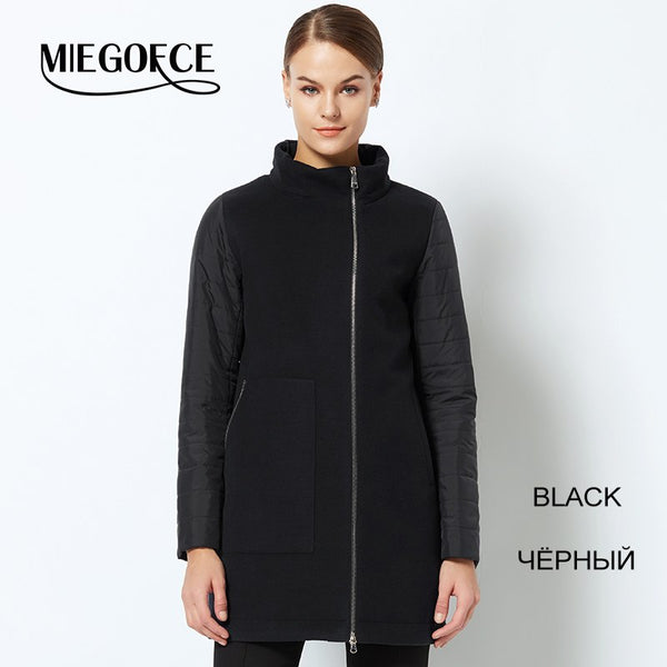 womens long down jacket