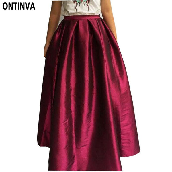 womens flared skirts