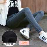 winter Fashion Ladies Casual Fleece Warm Jeans Women High Waist Skinny Jeans Female Stretch Pencil Pants Hot Leggings Wz020-elatestore -elatestore