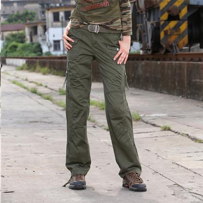 cheap khaki cargo pants for women