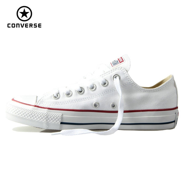 Original Converse classic all star canvas shoes men and women sneakers low classic Skateboarding Shoes 4 color-elatestore -elatestore