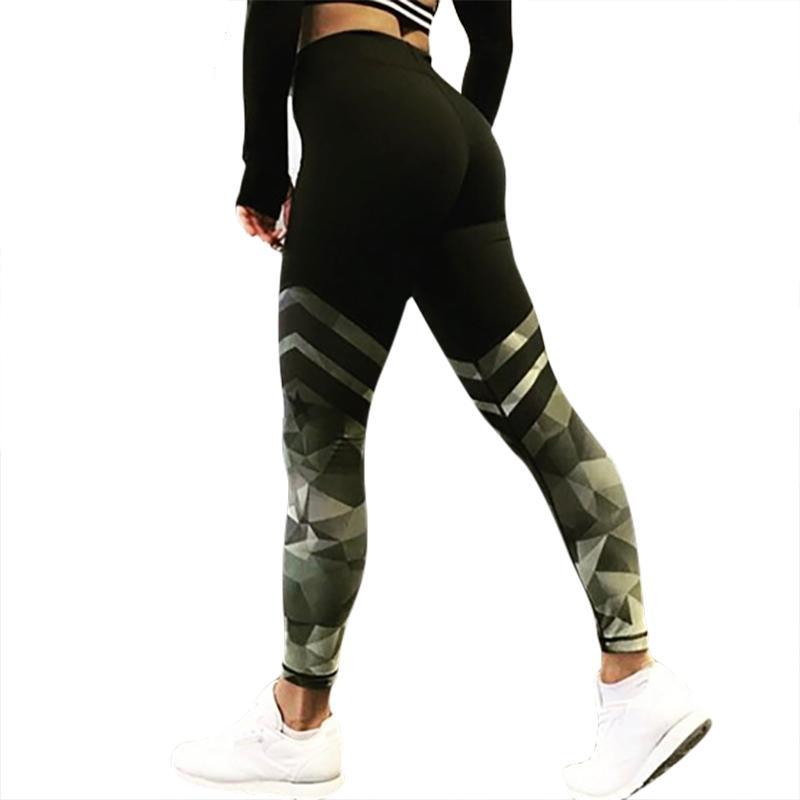 591335a645475a ... Pants Camouflage Push Up Tights Leggings. [dress] - elatestore