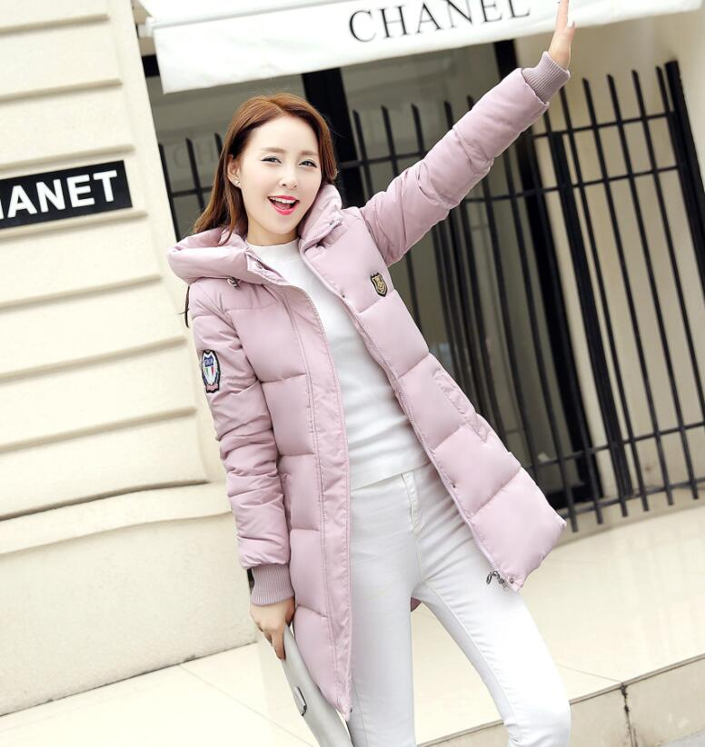 778468551 Women's Winter Warm Long Parkas Thick Outerwear Jacket Down Coat ...