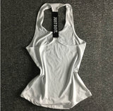 Sandy Yoga Top Gym Sleeveless Sports Vest Shirts-elatestore -elatestore