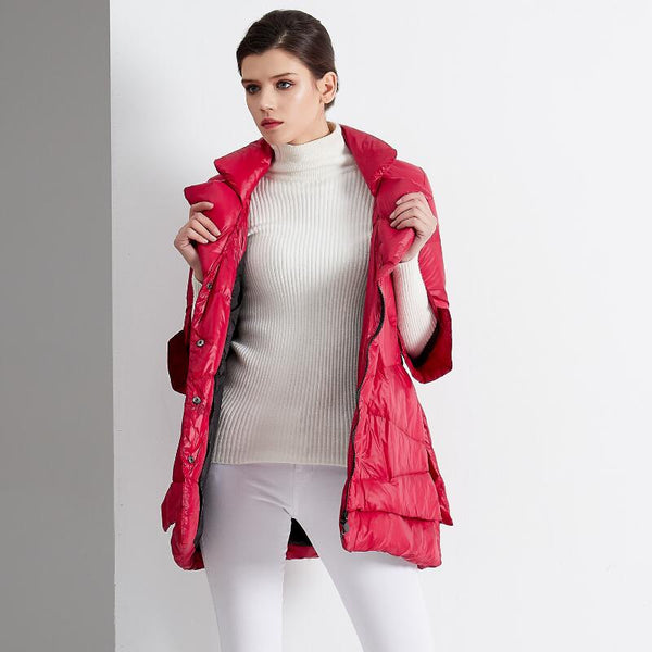 Women Winter Jacket Cloak Loose Parka Warm Cotton Coat-elatestore-elatestore