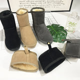 Victoria Winter Warm Snow Ankle Boots-elatestore -elatestore