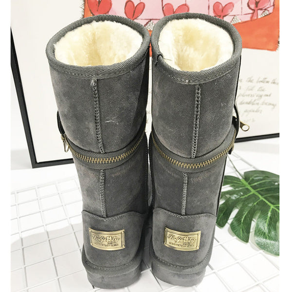 Victoria Winter Warm Snow Ankle Boots