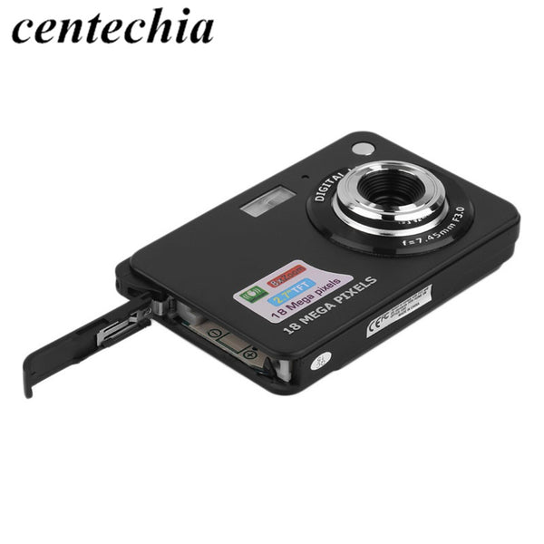 digital camera HD K09  2.7 inch TFT LCD Digital Camera Camcorder CMOS Senor 8x Digital Zoom Anti-shake Anti-red eye Camera - elatestore