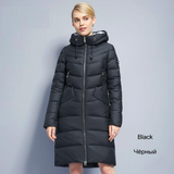 Warm Women's Jacket Coat Simple Women Parkas Warm Winter Women's Coat Wadded Down Parkas-elatestore-elatestore
