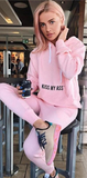 Hooded Casual Workout set Sweatshirt and Pants Tracksuit - elatestore