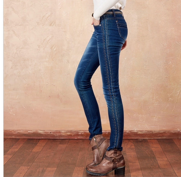 ripped skinny jeans womens