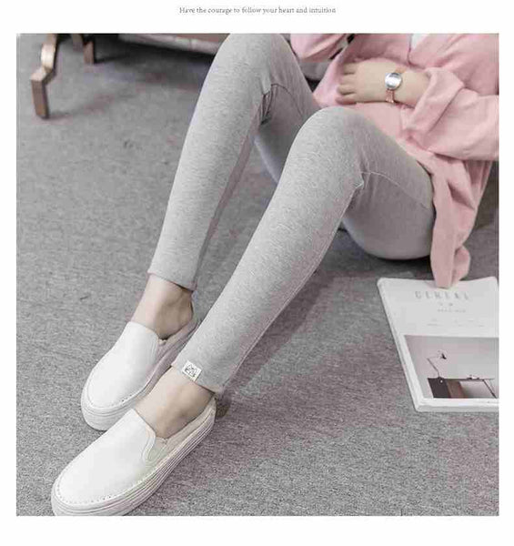 large size XL 2XL maternity legging pants spring autumn warm pregnant leggings clothing quality cotton pant trousers