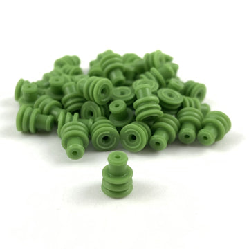 AMP (Tyco) 281934-4 Superseal 1.5 Series, Green Wire Seal (22-20 AWG)