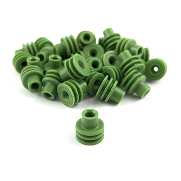Aptiv (Delphi) 15324982 Weather-Pack, Metri-Pack 280 Series, Green Wire Seal (2.03-2.85mm)