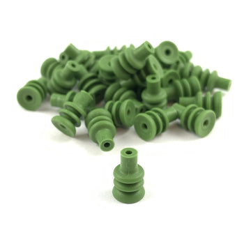 AMP (Tyco) 347874-1 .070, Econoseal 3 Series, Green Wire Seal (20-16 AWG)