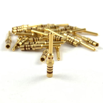 50x Deutsch DT Pin 20-16 AWG Gold Contact Male Terminal for DT Connector Plug